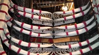 Cat 6A amazing dressing and termination