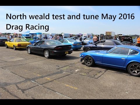 Test and tune north weald 8th may 2016 drag racing