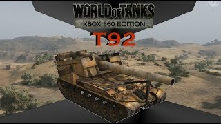 World of tanks: Xbox 360 Edition, lets play 30 -T92 Artillery