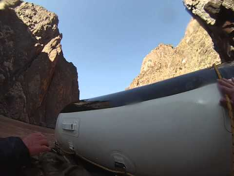 How to right a flipped raft in the Grand Canyon