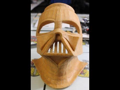 Darth Vader Helmet Part 3 (Worbla Shell) - Craft Dad