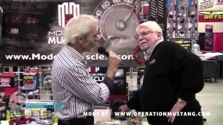 The Doc talks to Mr Gasket at AutoWares Show