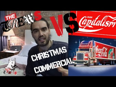 The Trews VS Coca-Cola Christmas Commercial: Russell Brand The Trews (E221)