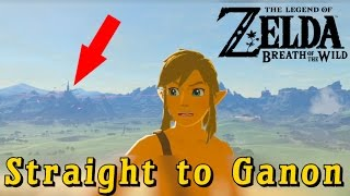 Going Straight to Ganon in Breath of the Wild (3 Hearts and Bad Gear)