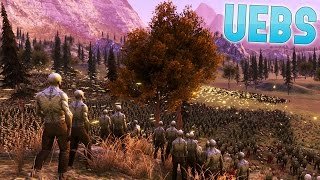 UEBS - 60,000 Zombies vs 1000 Soldiers - 8 Team battle - Ultimate Epic Battle Simulator Gameplay