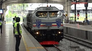 Johor Sultan becomes KTMB train driver for a day on JB-KL route