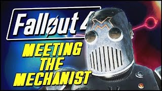 Fallout 4 Automatron DLC Funny Moments | MEETING THE MECHANIST!