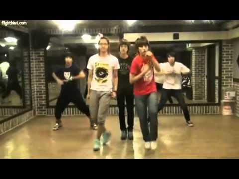 110825  B1A4 - A Chance Encounter Practice Video