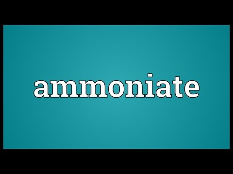Header of ammoniate