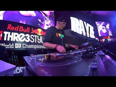 DJ Trayze - 2014 Red Bull Thre3Style World Finals - Qualifier - Winning Set Thursday 9-4-2014 Baku