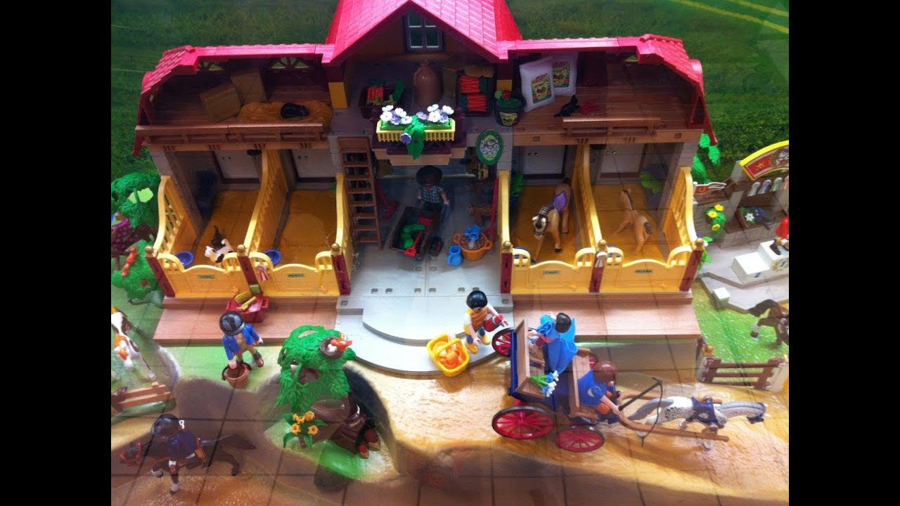 Playmobil country centre equestre youtube - Playmobil haras ...
