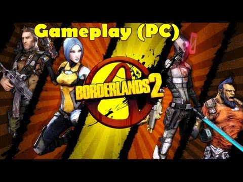 Borderlands 2 - Gameplay on HD 5850