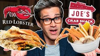 Red Lobster vs. Joe's Crab Shack Taste Test