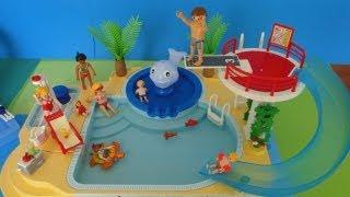 Playmobil piscine SUMMER FUN en français