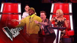 The Best Pitch EVER! | Blind Auditions | The Voice Kids UK 2019