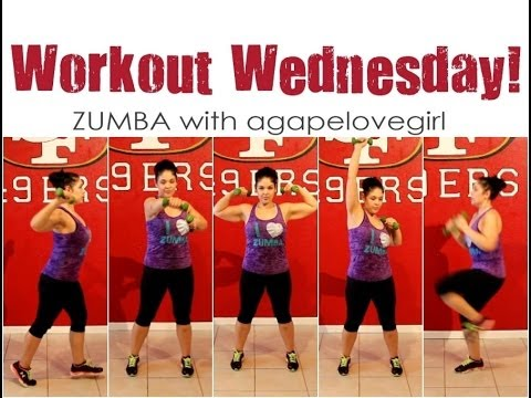 Workout Wednesday  2   Learn Zumba W Agapelovegirl