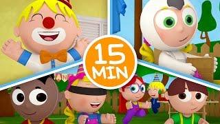 MIX Os Pequerruchos - Dia de Festa - 15 Minutos