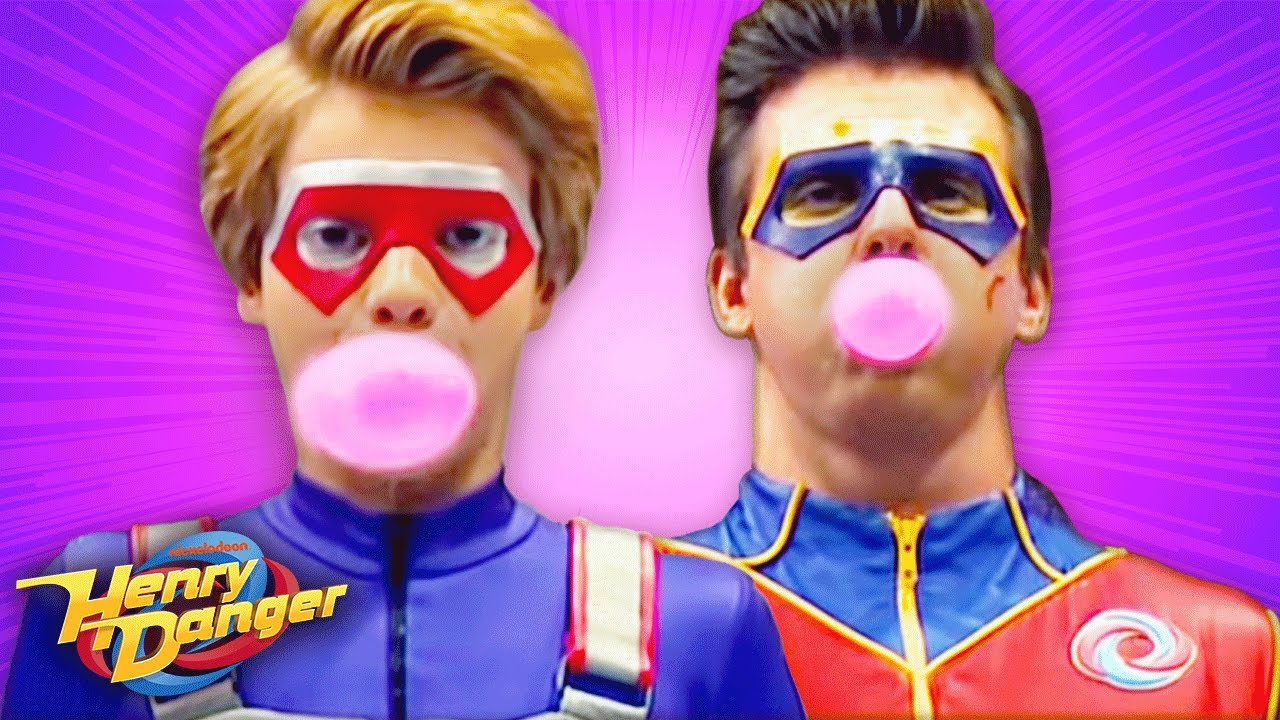 Henry Danger Bubble Blowing Competition Nick Youtube
