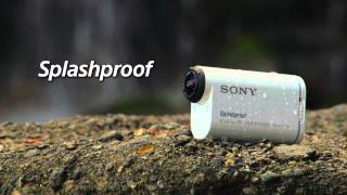 First Look At The New Sony Action Cam HDRAS100VR | Lightweight Sports Action Camera