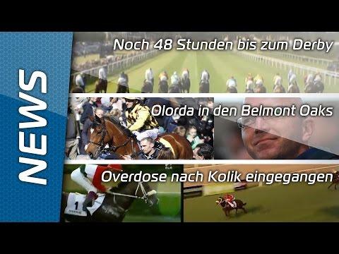 Sport-Welt TV News   03.07.2015   Deutsches Derby Hamburg-Horn startet bald + Olorda in Belmont Oaks