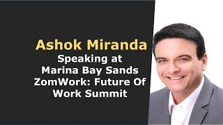 Ashok Miranda: Speaking on Company Culture and the Gig Economy