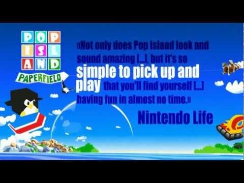POP ISLAND PAPERFIELD – VIDEOGAME – NINTENDO DSi – EUROPE TRAILER – 2010