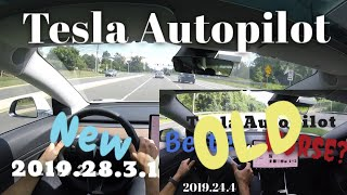 Tesla Autopilot | 2019.28.3.1 Shows Serious Improvements | Lane Changes & More!