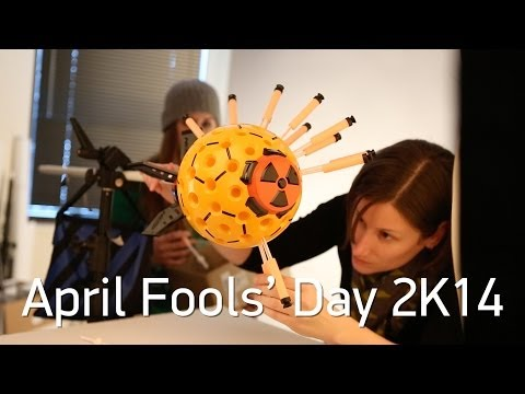 Happy April Fools  Day (2K14) love ThinkGeek