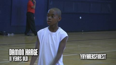 11 Year Old Hoops Phenom Damon Harge... #1 Ranked 6th Grader in the Country