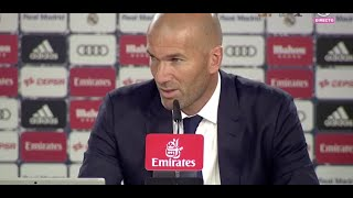 Rueda de prensa post partido | Zidane | Real Madrid 2-1 Celta.