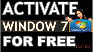 ⏭ACTIVATE WINDOW 7 FOR FREE💻|||USING WINDOW LOADER🎸|||FOR LIFETIME