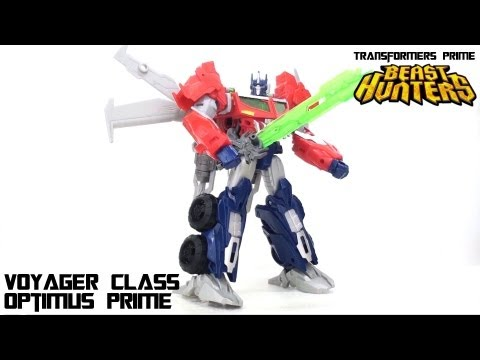 Video Review of the Transformers Prime: Beast Hunters Optimus Prime