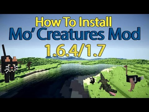 How to Install Mo' Creatures Mod - Minecraft: 1.6.4