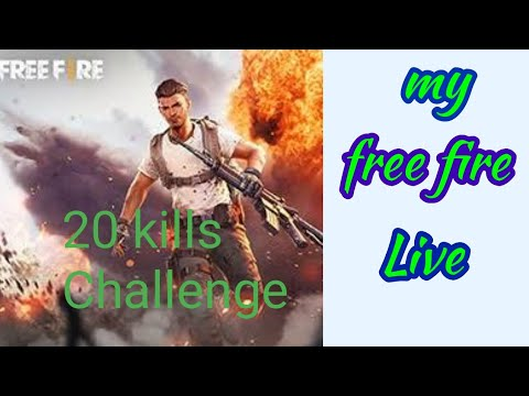 my Free fire game 20kills challenges