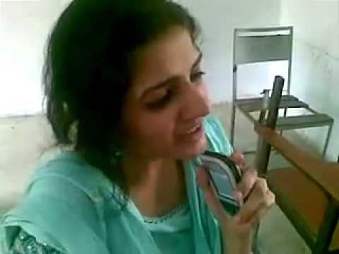 Pakistani Girl In Class Room video