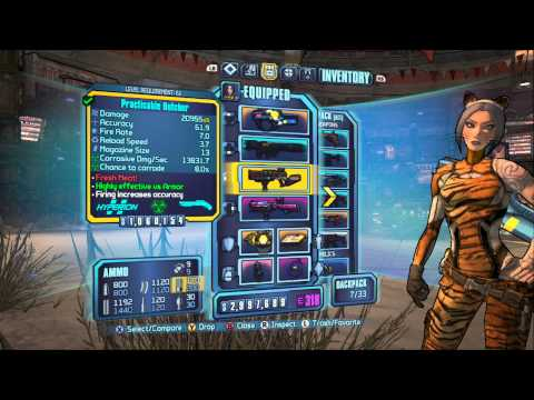 Borderlands 2 - Cataclysm/Motion Lv 61 Siren Build: Face-melting Extravaganza!
