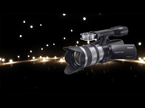 SONY NEX VG20 - fireworks - test night views