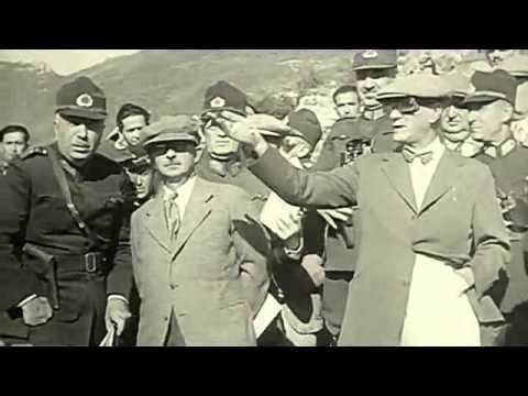 ATATÜRK 1930 LAR ÇOK NADİR YAKIN ÇEKİM GÖRÜNTÜLER