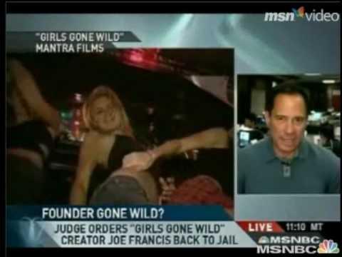 Girls Gone Wild creator Joe Francis story on MSNBC w/ TMZ