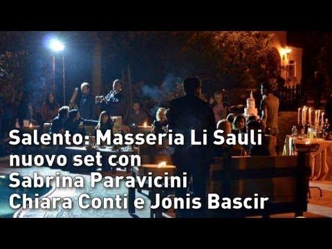 Masseria Li Sauli, nuovo set con Sabrina Paravicini, Chiara Conti e Jonis Bascir | InOnda WebTv