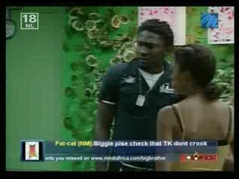 Big Brother Africa 3: Mimi And Uti Quarrel video
