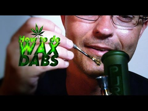 How to Smoke Wax Dabs on Inverted Bowl Marijuana Tips & Tricks with Bogart #23