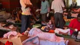 Raw Video Haiti Hospitals In Crisis
