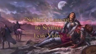 SCYTHIA - Soldier's Lament (Lyric Video)