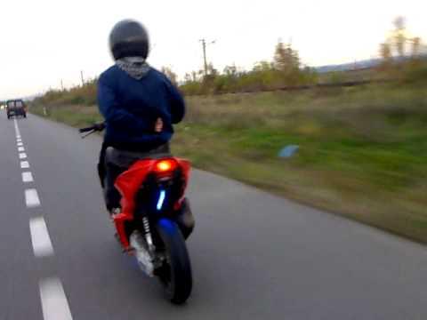 Yamaha Aerox 120 Km h pe Centura.mp4