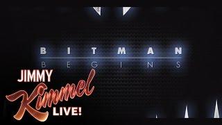#Kimmel YouTube Film -- Bitman Begins