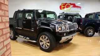 2008 Hummer H2 SUT Luxury For Sale~Blk on Blk~Lots of Chrome~Low Miles~Navi~DVD