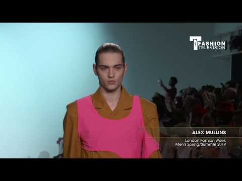 ALEX MULLINS London Fashion Week Men's Spring/Summer 2019