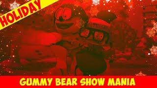 """Merry Christmas"" Christmas-Vision (RED & GREEN & SNOWFLAKES) - Gummy Bear Show MANIA"