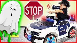 POWER WHEEL POLITIEAUTO  Ride On speelgoed voor peuters  Kinderen die net doen alsof ze een stoute